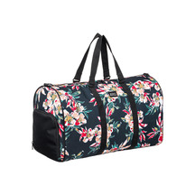Roxy Pumpkin Spice Travel Duffle Bag Anthracite Wonder Ga...
