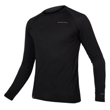 ENDURA Mens BaaBaa Blend Long Sleeve Base Layer