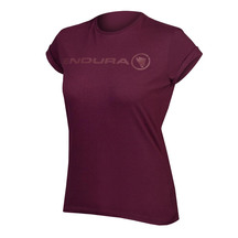 Endura Womens One Clan Light T - Mulberry