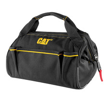 CAT WIDE MOUTH TOOL BAG W/ ZIP