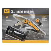 CAT 9-IN-1 Multi Tool & Mimi Keychain Multi Tool Set