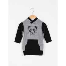 Mokopuna merino hoodie with pockets