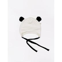 Mokopuna merino panda bonnet