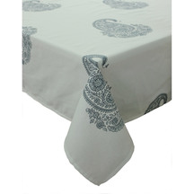 Paisley Navy Tablecloth 130X180cm