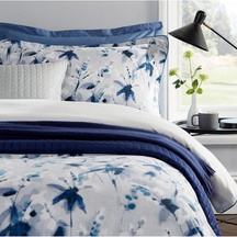 Christy Nina Indigo Duvet Set