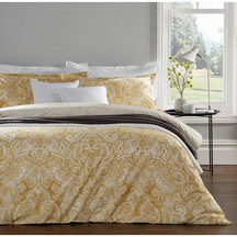 Christy Rhapsody Ochre Duvet Set