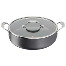Jamie Oliver by Tefal Cooks Classic Hard Anodised 30cm Sh...