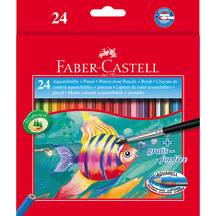 Faber-Castell Watercolour Pencils Box 24
