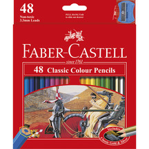 Faber-Castell Classic Colour Pencils Box 48