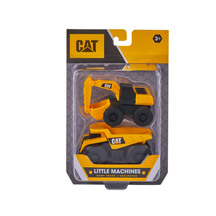 CAT Little Machines Dump Truck & Excavator