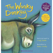 Wonky Donkey Book & CD - Craig Smith