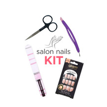 AT HOME SALON NAIL KIT 223.